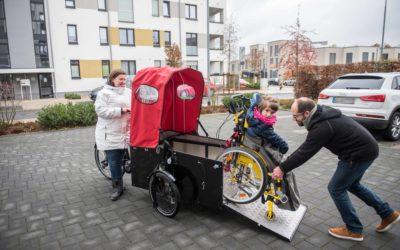 Ein neues Fahrrad für Leonies Familie