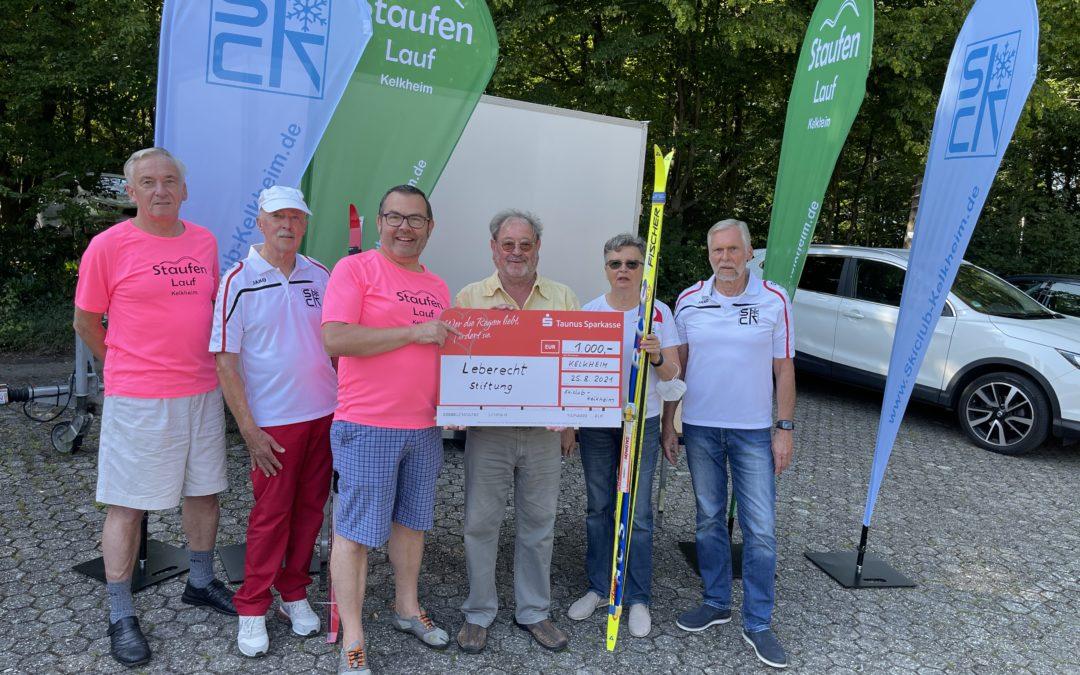 Lauf-Team Spendenübergabe